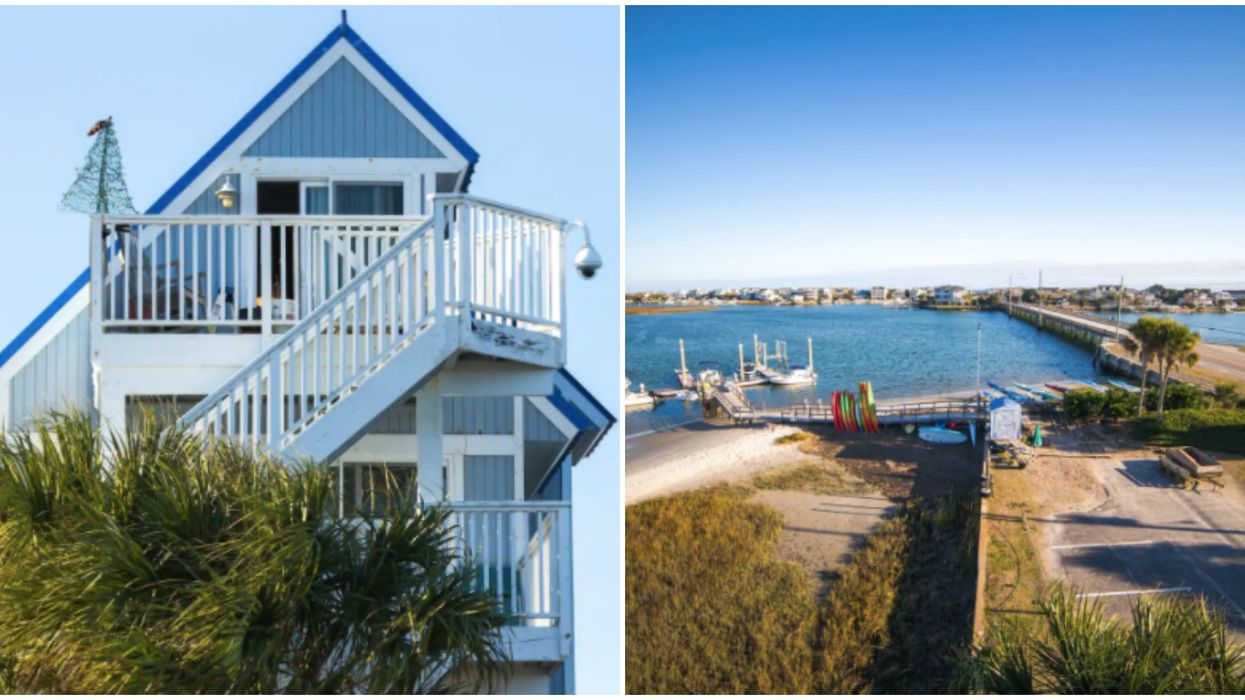Affordable Airbnbs In North Carolina Right On The Water To Book With BFFs This Summer