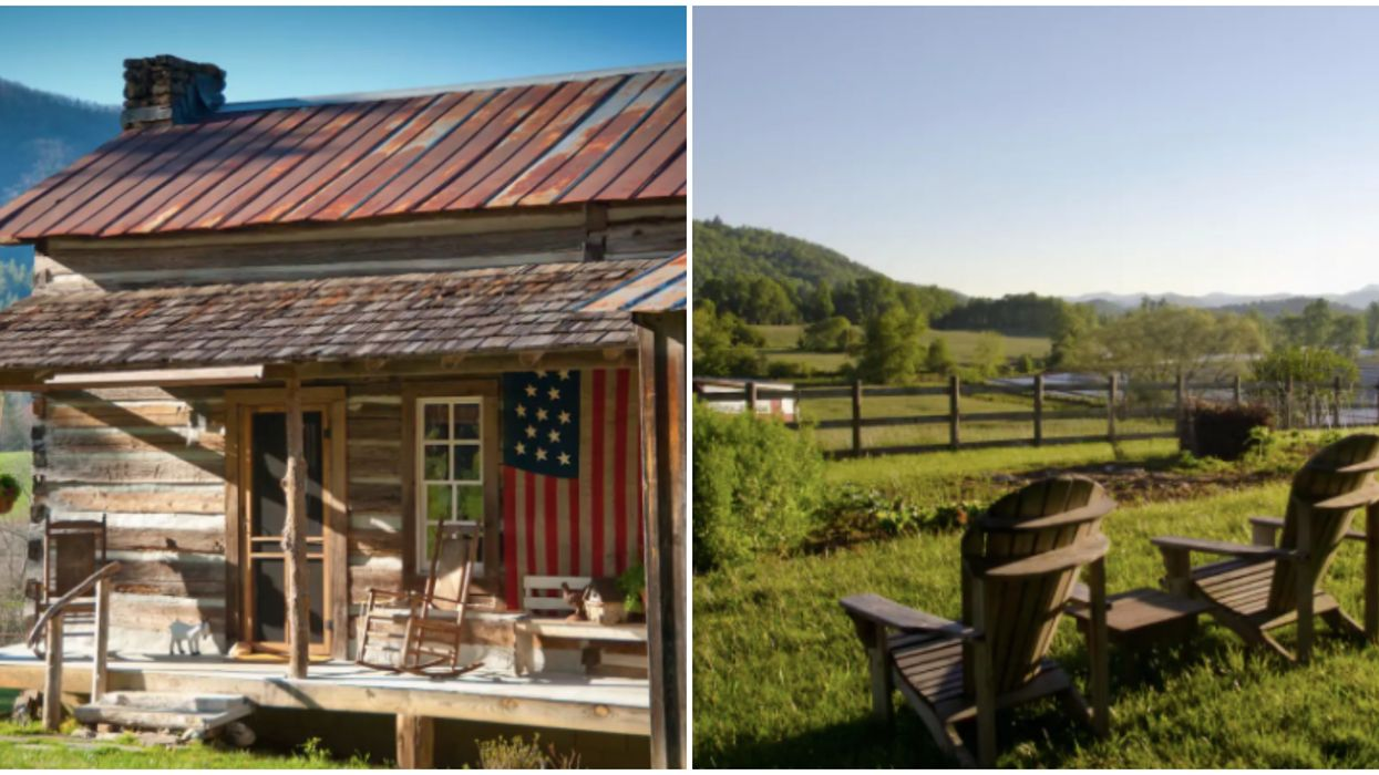 Airbnb Cabin Rental In Georgia Is the Perfect Getaway Spot For Romantic Mountain Views