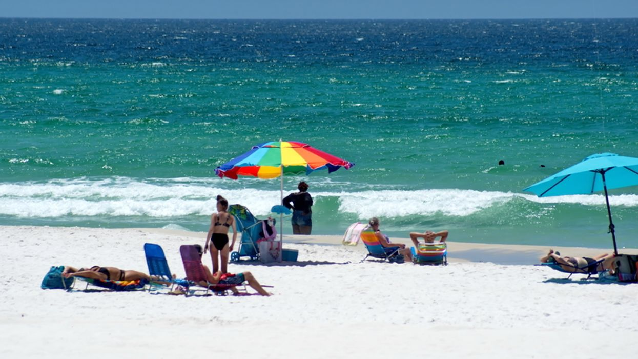 Florida Beaches Open For The 4th Of July Weekend