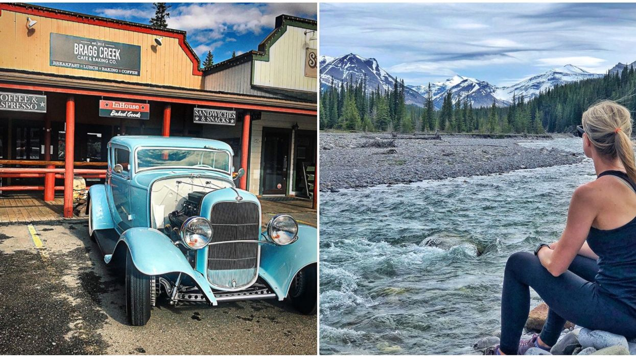 Bragg Creek Is The Most Peaceful Place In Alberta & It's Like Stepping Back In Time