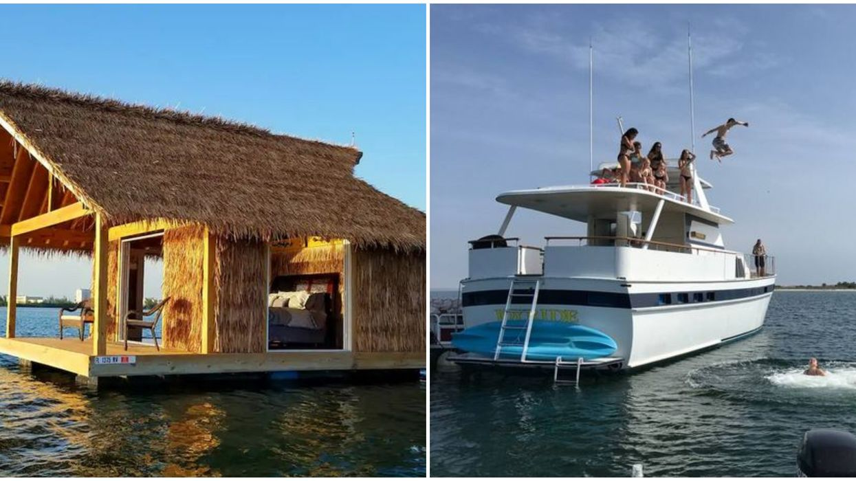 floating airbnb florida