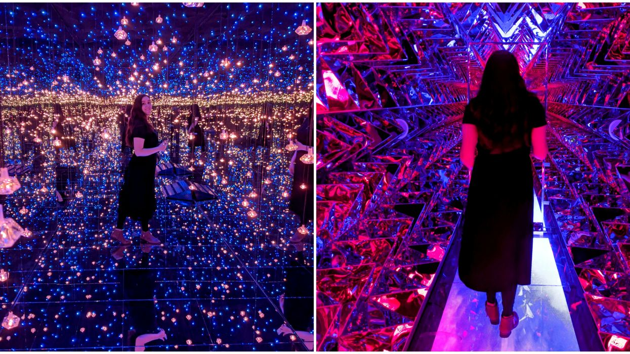 Vancouver's Mirrored Light Exhibit Reopens With More Infinity Mirrors Than Ever (PHOTOS)