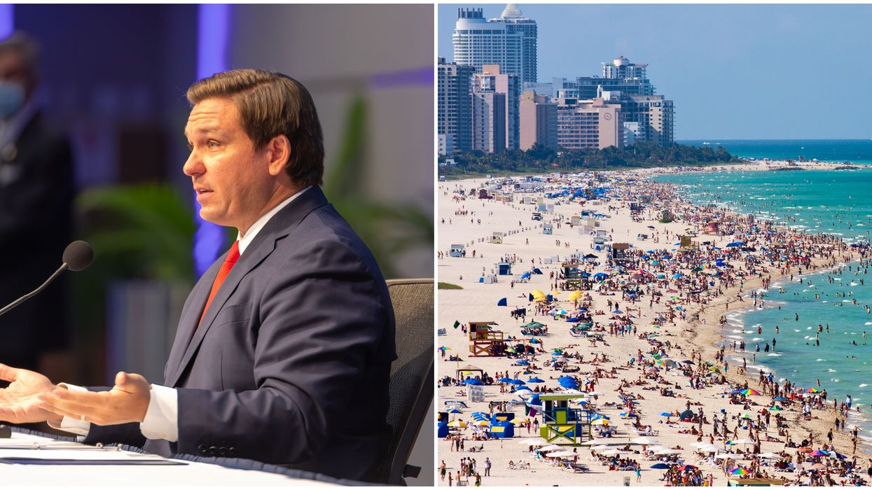 Florida COVID-19 Cases Rising DeSantis Says State Will Remain Open