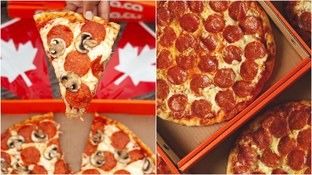 Pizza Pizza Is Offering 50% Off Medium Pizzas To Celebrate Canada Day