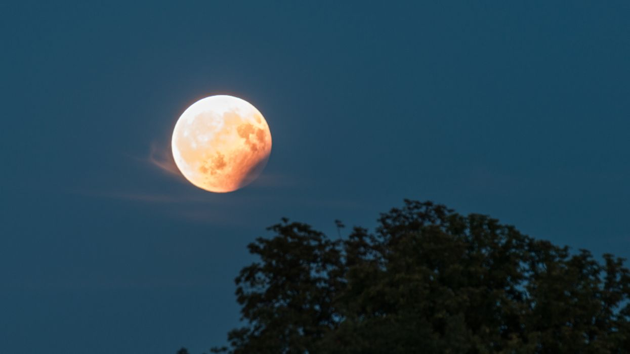 Lunar Eclipse Appears On July 4th Over Southwestern Skies