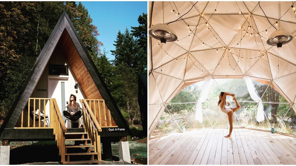 Nectar Yoga BC's Bowen Island Has Hidden Gem Cabins Les Than An Hour From Vancouver