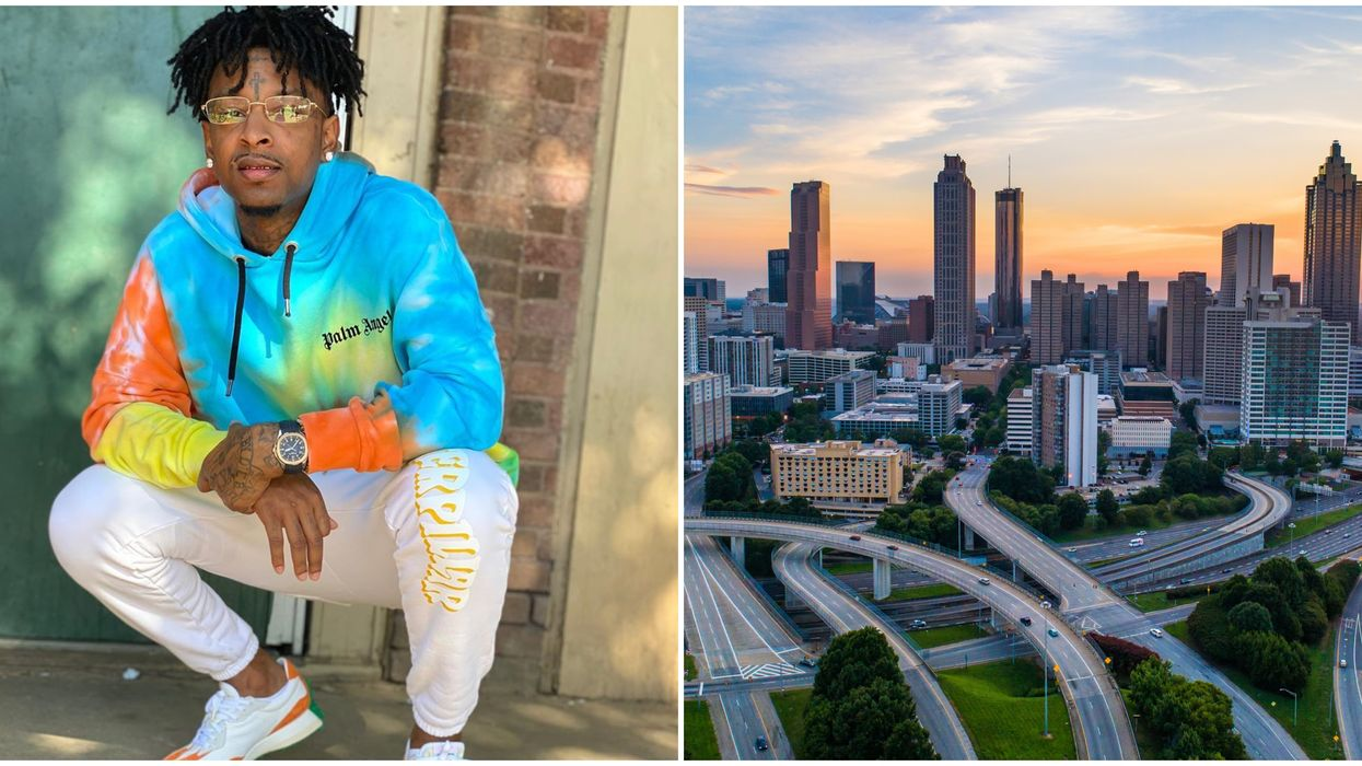 21 Savage Donates $25,000 To An Atlanta Organization To Help Citizens In Need