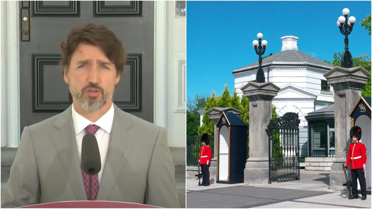 An 'Armed Man' Broke Into The Grounds Of Rideau Hall But The PM Wasn't Even There