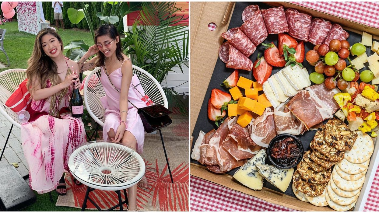 DIY Picnic Baskets In Toronto Deliver Rosé To Your Door For That At-Home Glam Vibe