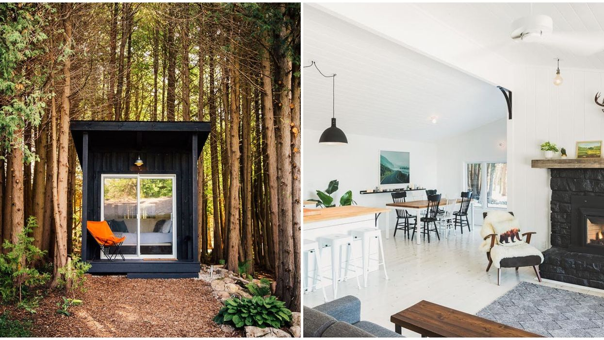 An Ontario Airbnb Near Toronto Is Like A Romantic Cottage Getaway Meets High Fashion