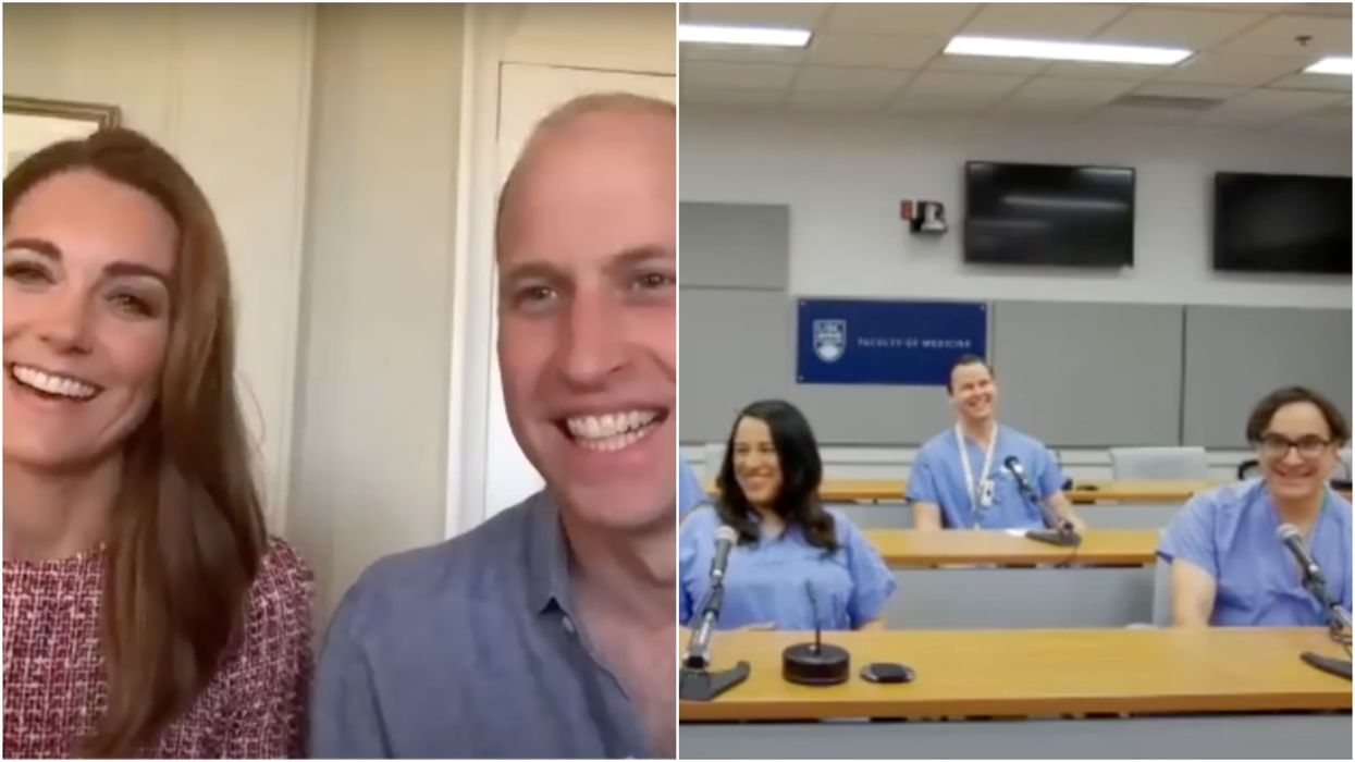 Prince William & Kate Spoke To BC Hospital Staff & Shared Their Love For Canada (VIDEO)