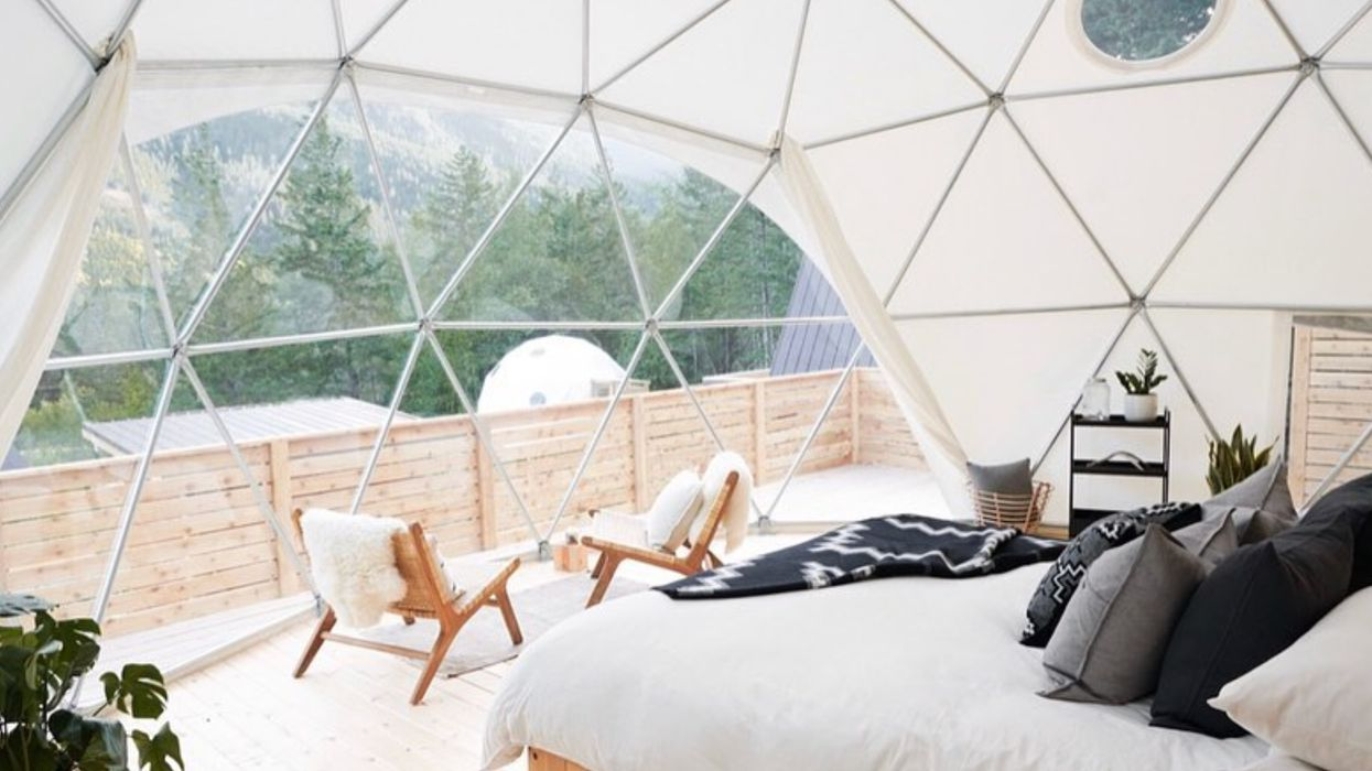 Glamping Domes In B.C Open This Week & It's Like Summer Camp For Adults
