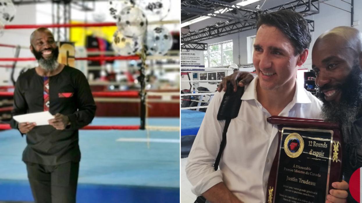 Ali Nestor, entraîneur de boxe de Justin Trudeau, s'attaque au racisme à Montréal