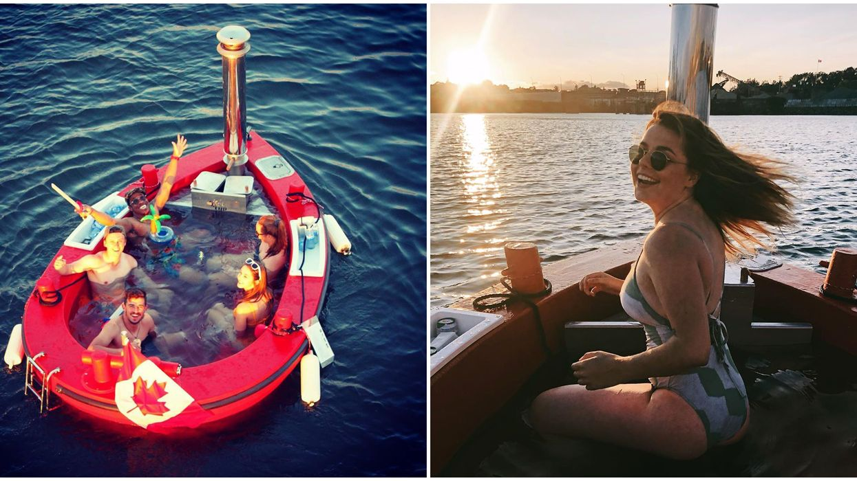 Hot Tubs Boats In Victoria Are The Ultimate Floating Party This Summer