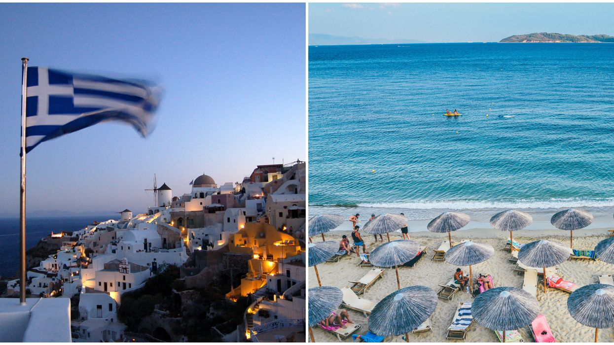 Travel To Greece From Canada Is Allowed Now & There Are Flights Available