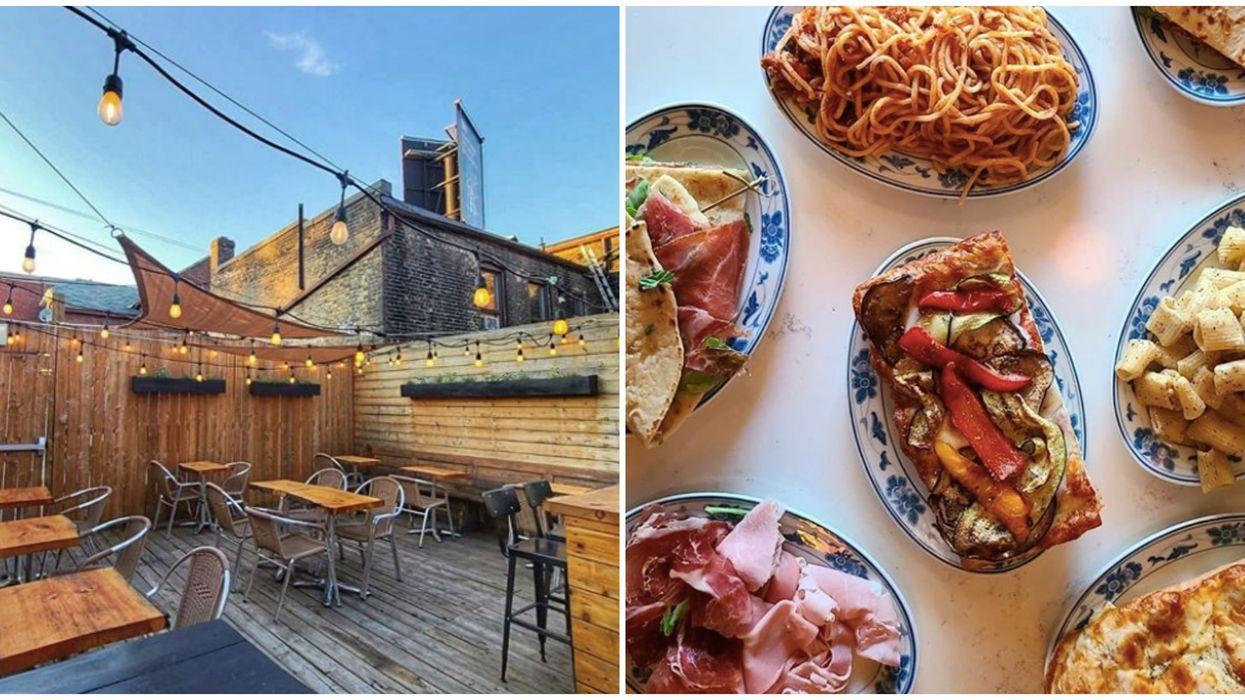 Toronto's Buono Patio Is Opening Tomorrow & It's A Pasta Lover's Paradise