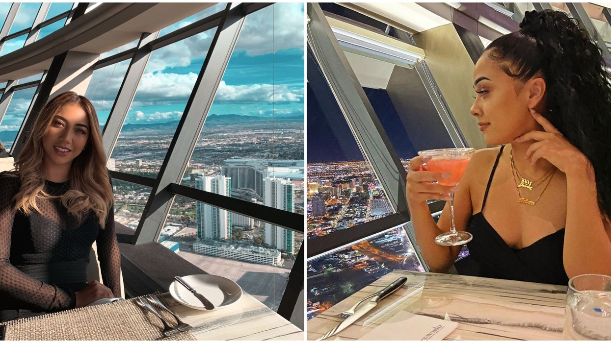 Las Vegas Groupon Will Get You A 4-Course Meal Hundreds Of Feet Above The Strip