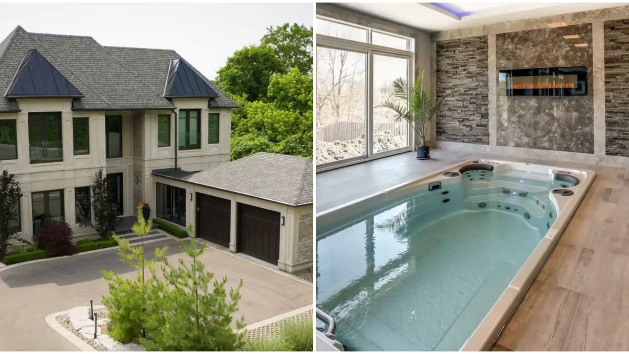 This 'Resort' Mansion For Sale In Toronto Has Two Pools Because Why Not (PHOTOS)