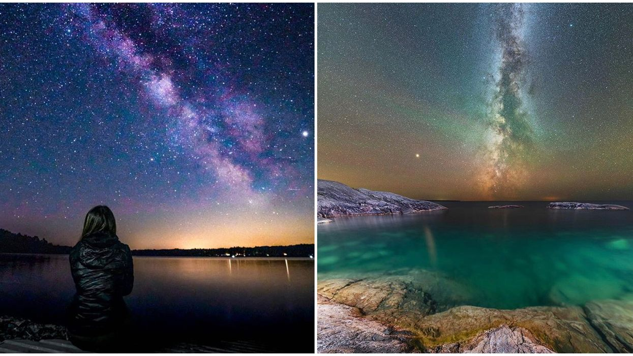 Ontario's Stargazing Spots Will Bring You Majestic Views Of The Night Sky