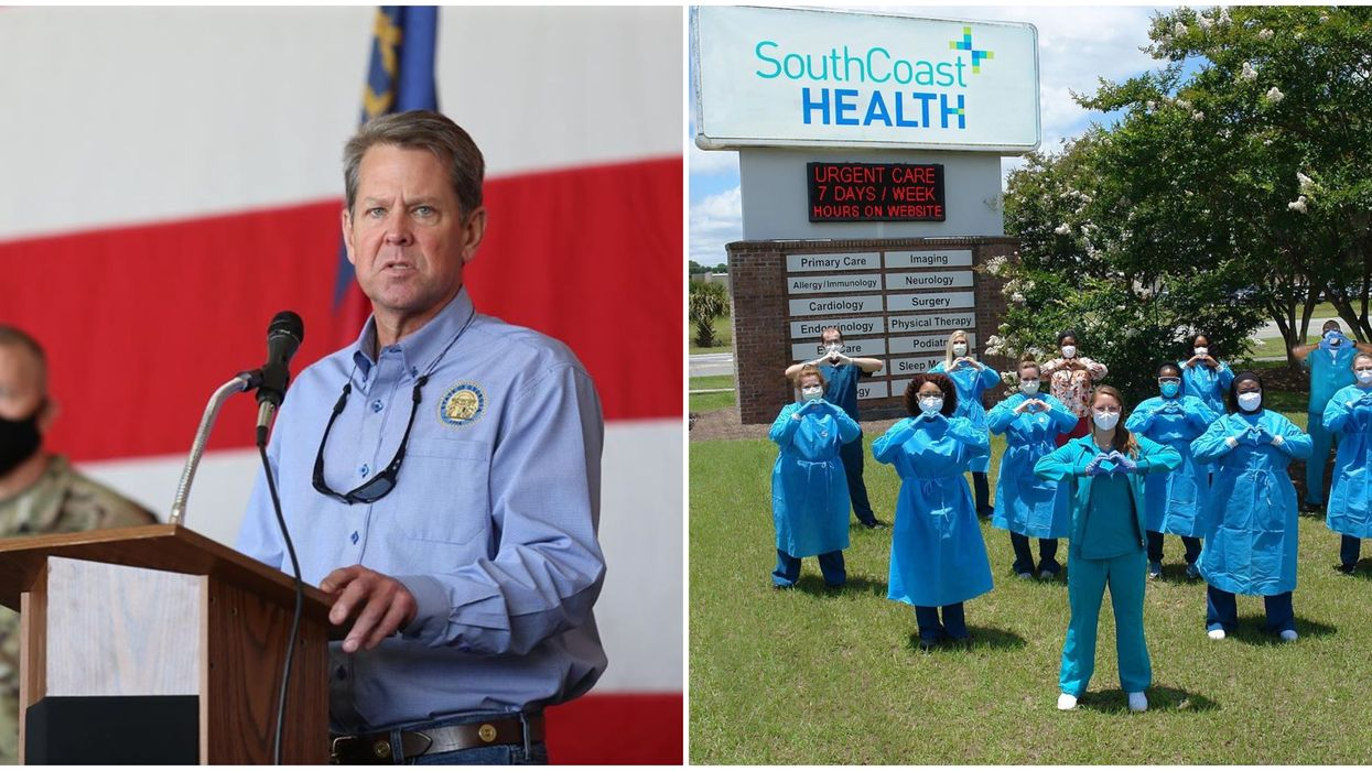 COVID-19 Cases In Georgia Worry Health Care Workers Who Send Letter To Kemp For Action