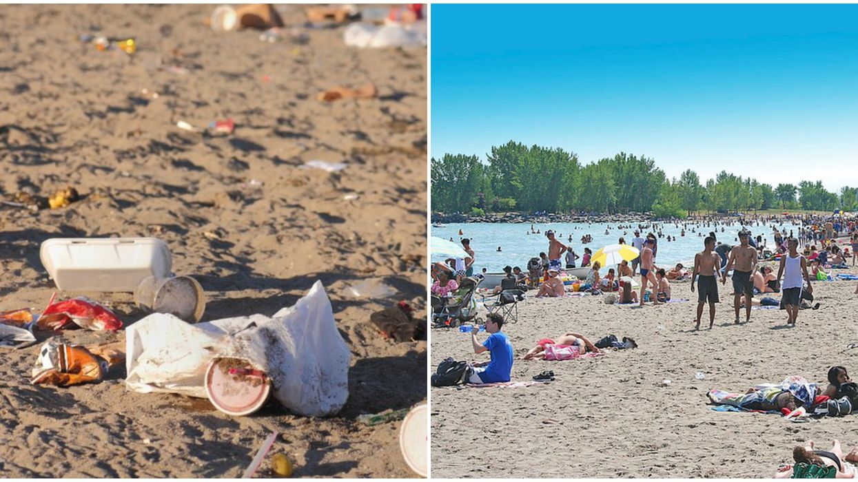 Toronto Littering Fines Could Be Up to $500 If You Dump Garbage On The Beach