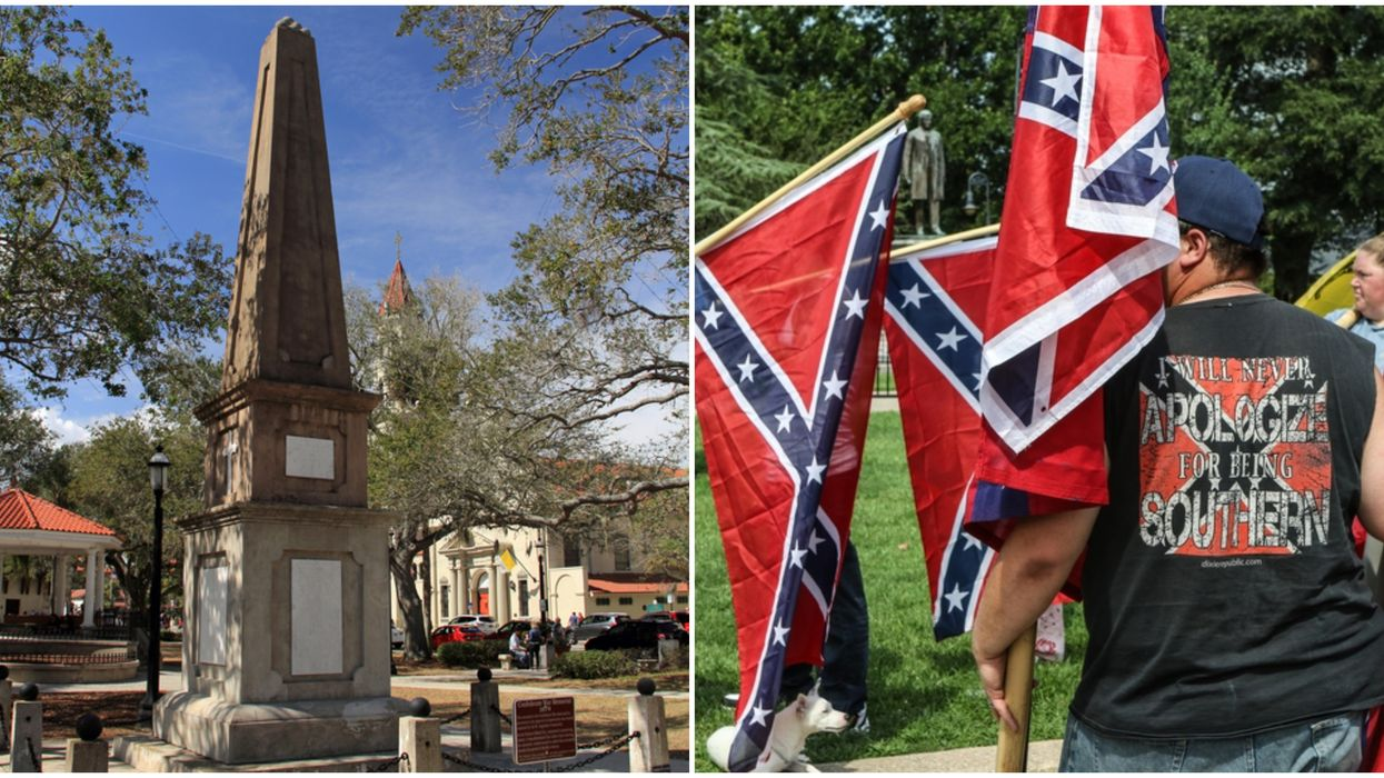 Confederate Memorial Protesters In St. Augustine Create Petition To Keep Monument