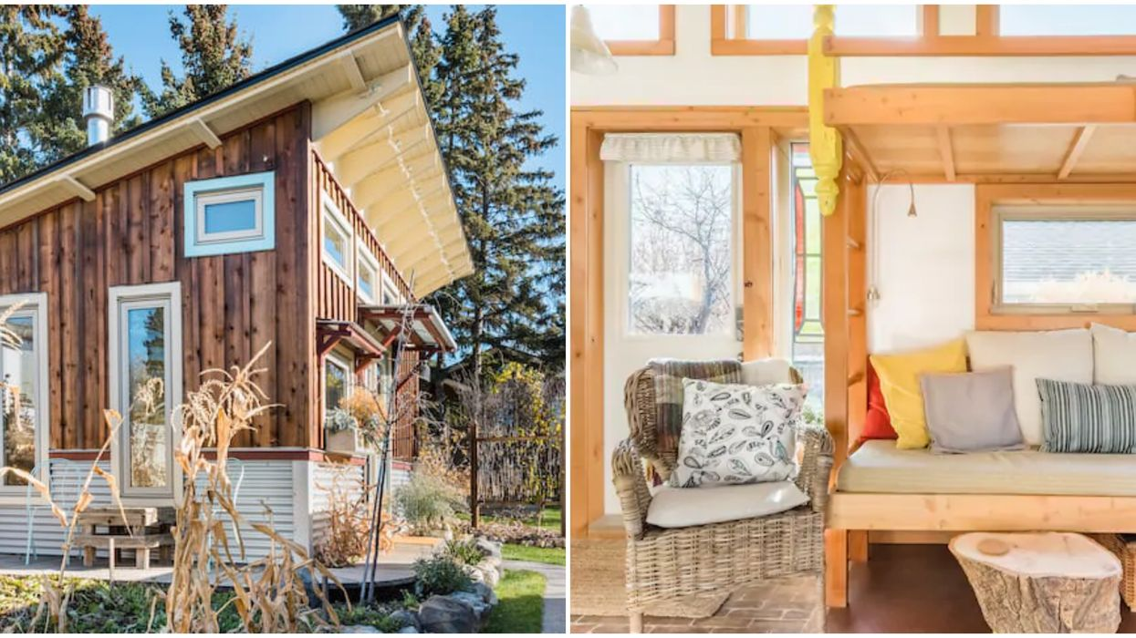 7 Tiny Homes Near Calgary You Can Rent On Airbnb This Summer To Escape The City