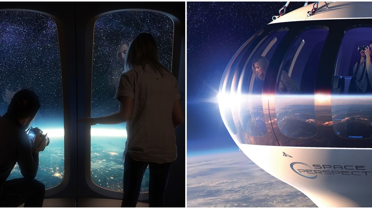Florida Company Space Perspective Wants To Fly Customers To Edge Of Space In Balloon