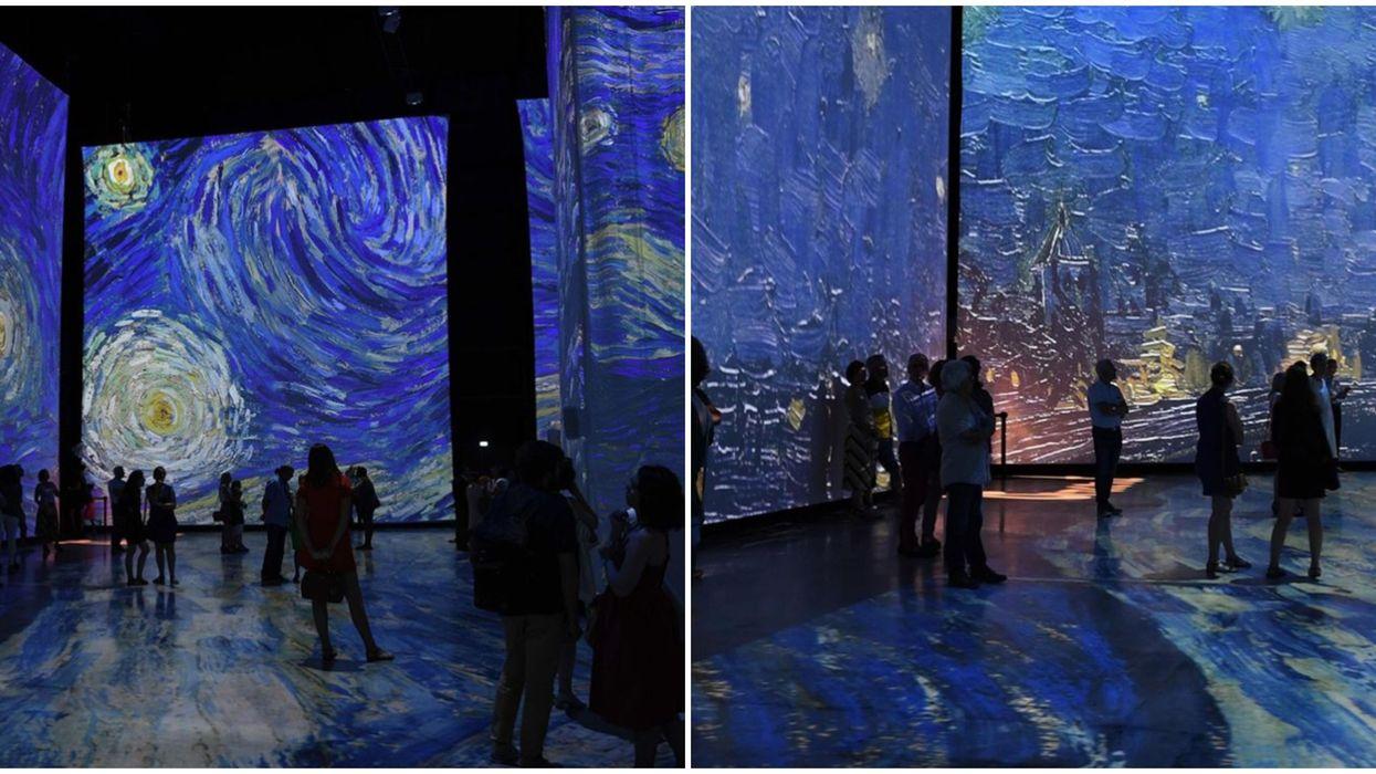 Imagine Van Gogh à Québec : Tu peux dès maintenant acheter tes billets pour l'exposition qui aura lieu du 18 juillet au 13 septembre 2020