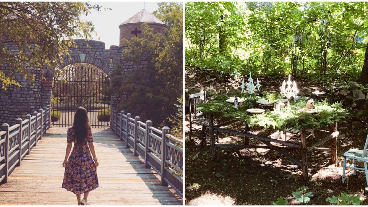 Seigneurie de l'île d'Orléans : ce jardin possède le «spot » romantique