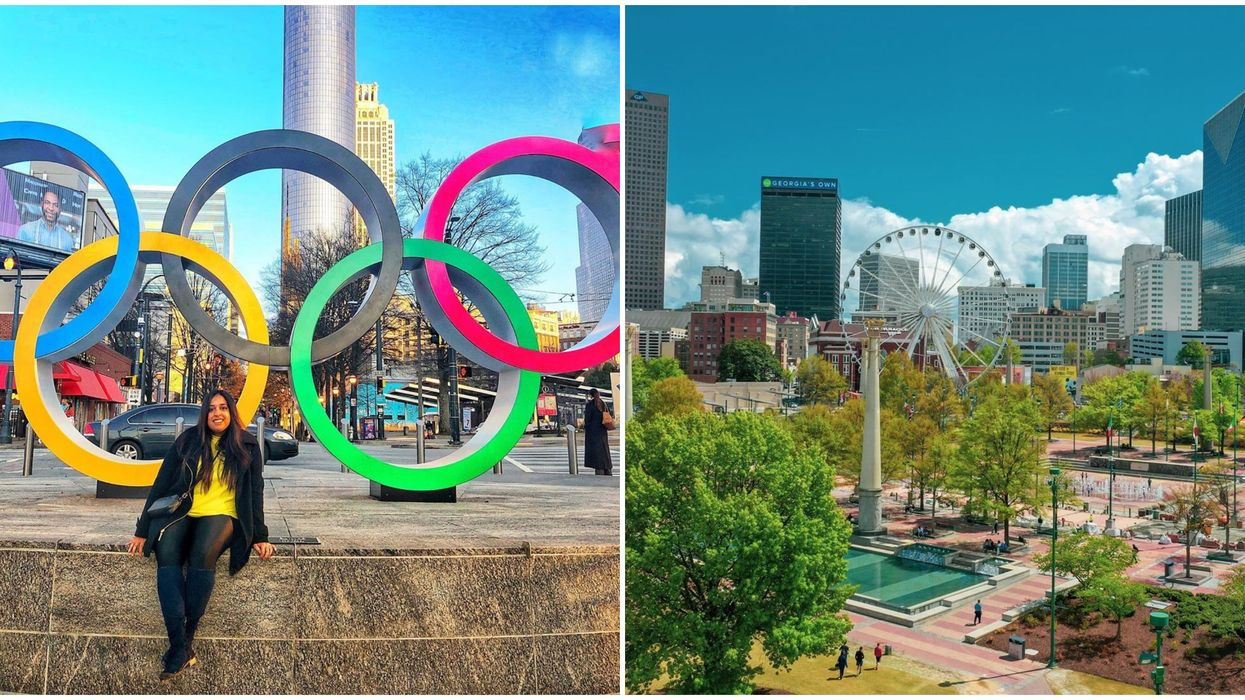Centennial Olympic Park In Atlanta Has Been Closed Due To COVID-19 Financial Struggles