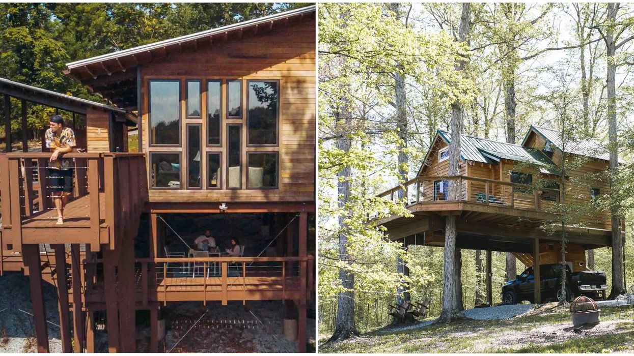 7 Treehouse Airbnbs In Tennessee Near Nashville That Will Give You Dreamy Views