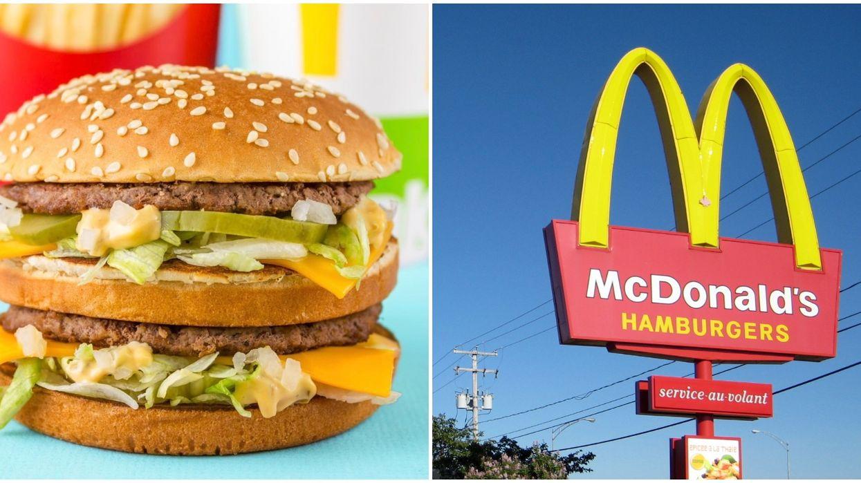 McDonald's Canada Faves Menu Has Food For Under $5