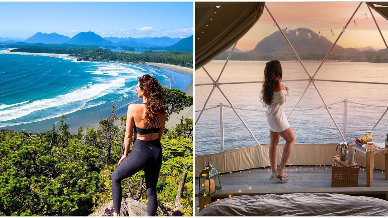 B.C.'s Tofino Is A Paradise Town With 35-km Of Pristine Turquoise Beaches
