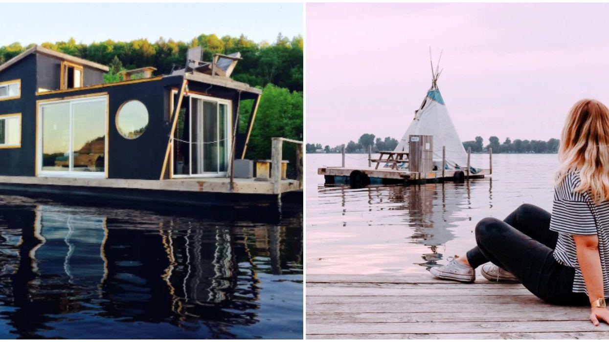 7 mignonnes habitations flottantes que tu peux louer avec tes amis au Québec