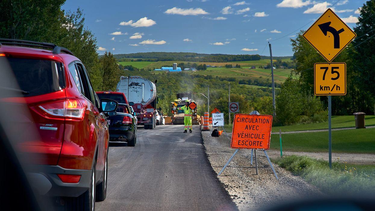 Voici les amendes que tu peux recevoir sur les chantiers routiers du Québec