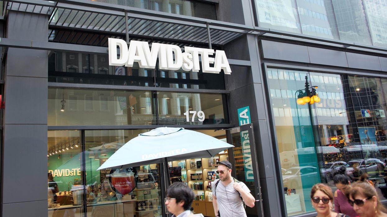 DavidsTea se place à l'abri de ses créanciers et les magasins resteront fermés