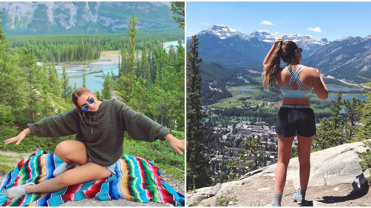Easy Mountain Lookout Hike In Banff Is Perfect If You Haven't Exercised In Weeks