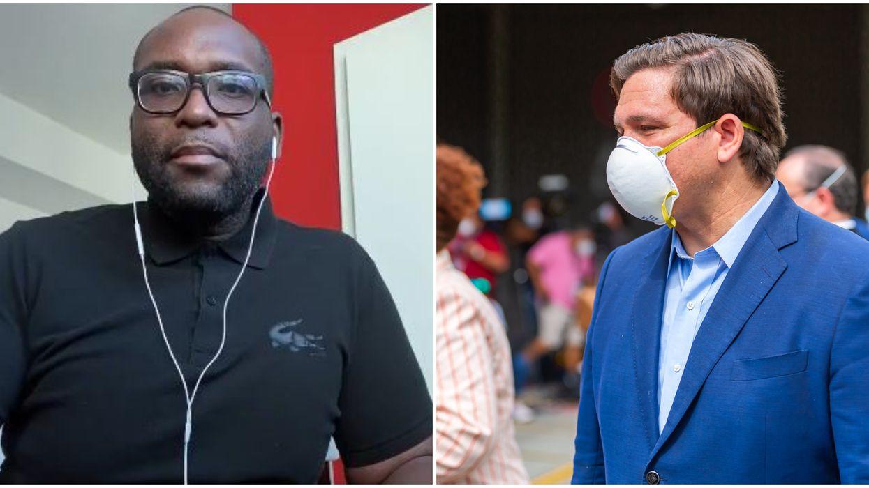 Florida State Rep Shevrin Jones Calls For DeSantis To Make Mask Mandate