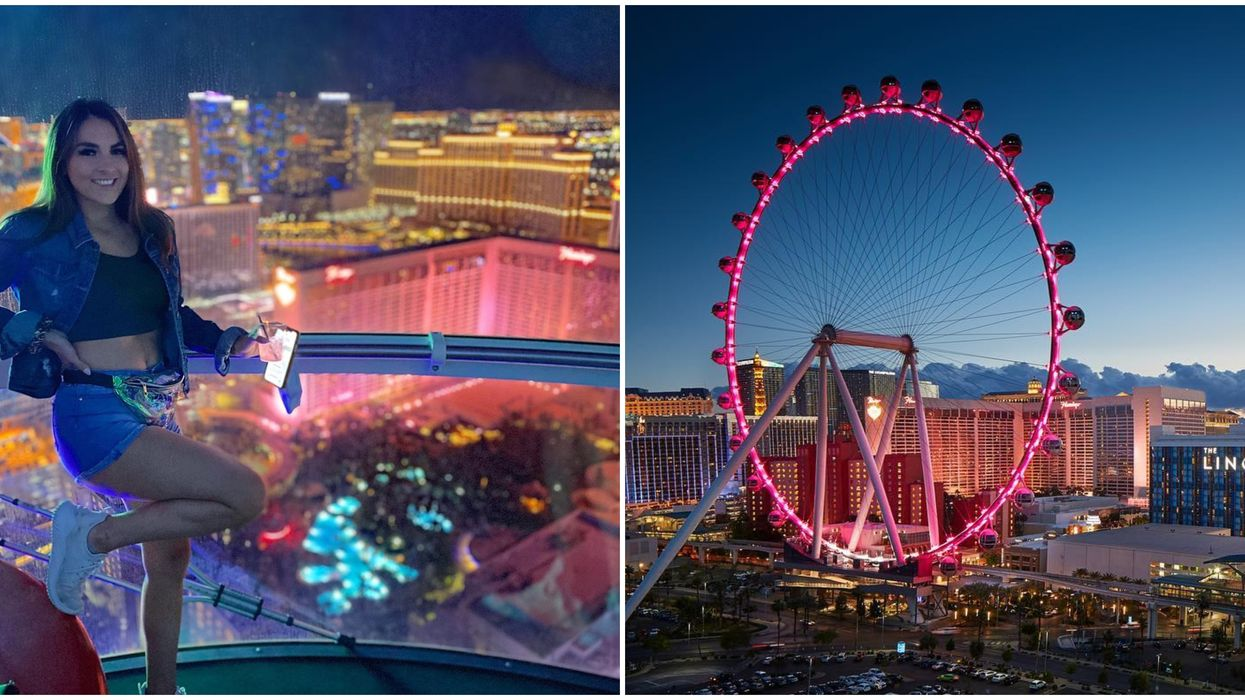 High Roller In Las Vegas Groupon Gets You An Open Bar & Epic Views