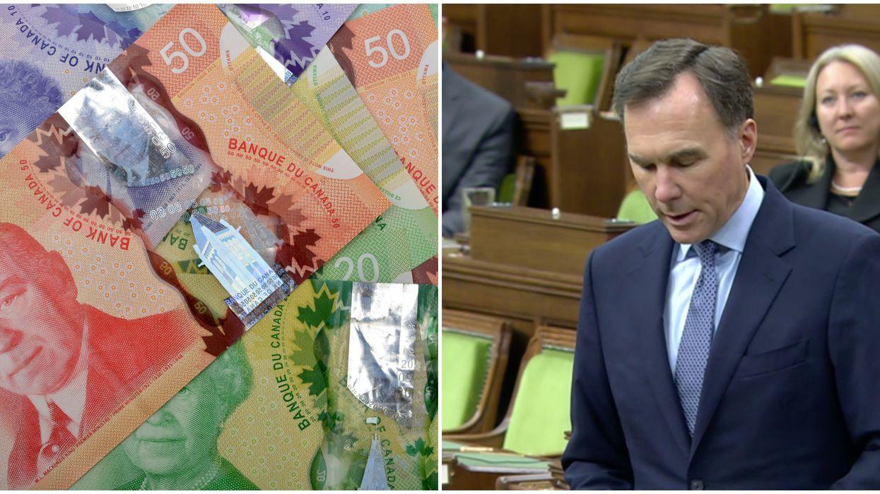 Le ministre fédéral des Finances annonce la nouvelle dette du Canada et c'est un record