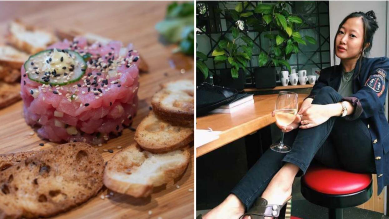 Ce resto à Montréal offre des tartares et du vin à 5$ pour ne pas te ruiner cet été