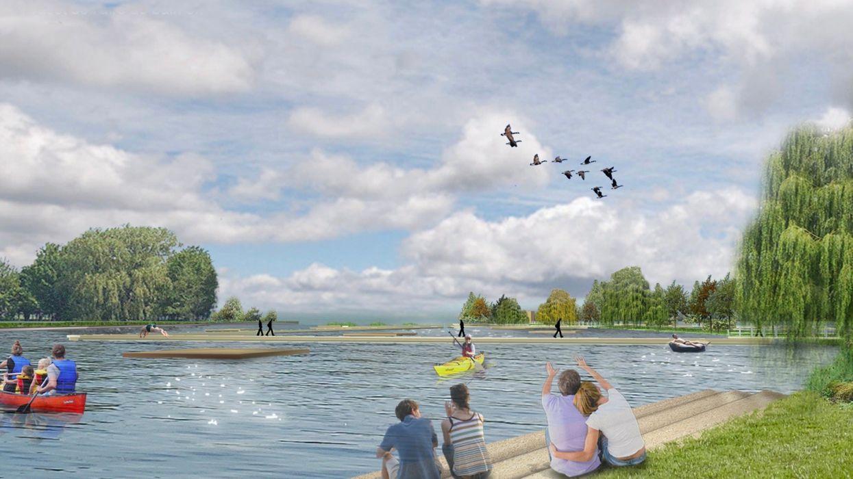 Nouveau parc riverain au Port de plaisance de Lachine