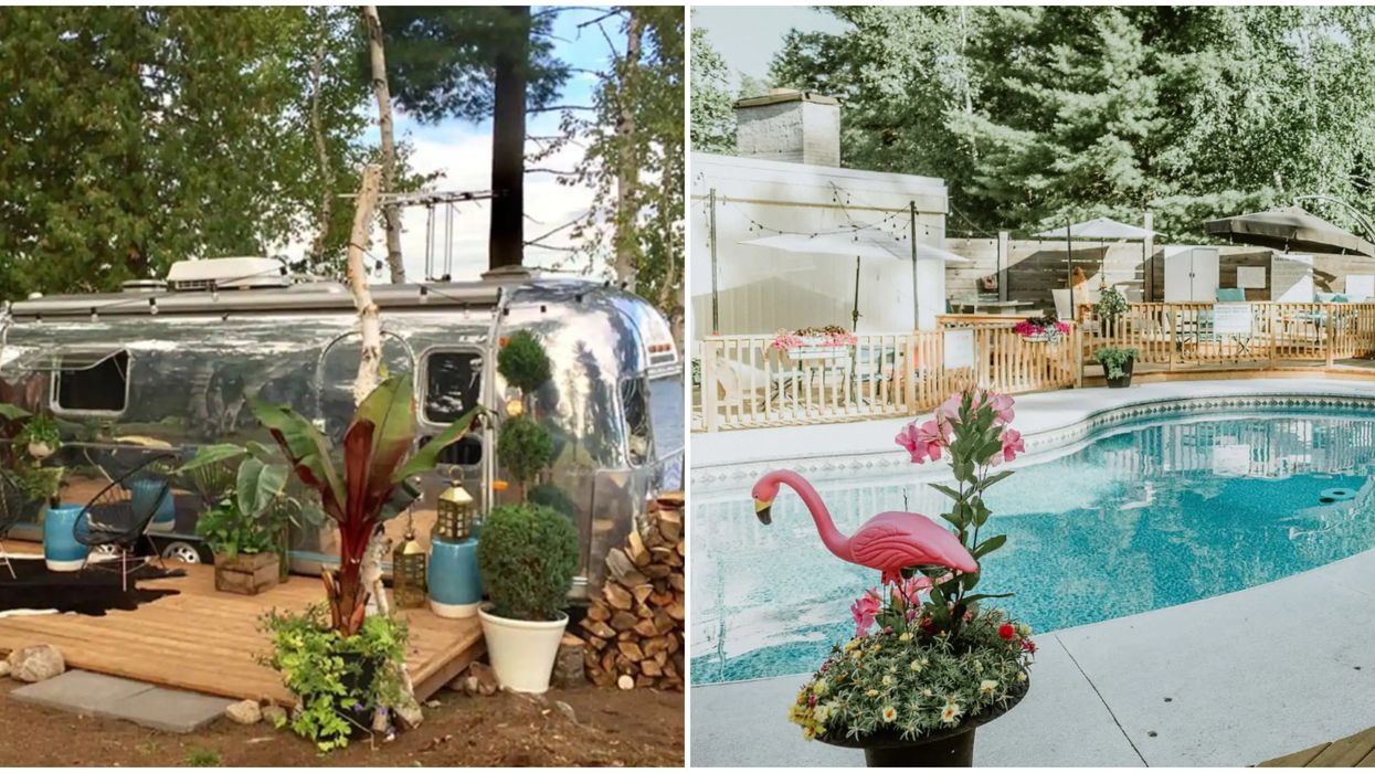 An Airstream Airbnb In Ontario Offers A Glorious Retro Vibe And A Bunch Of Amenities