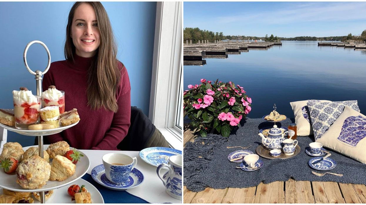 Ontario's Patio High Tea Lets You Sip By The Water Like A Queen