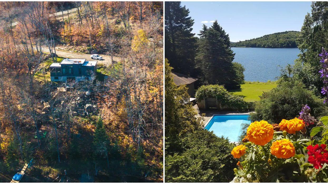 8 chalets pas chers près d'une plage ou du bord de l'eau pour un séjour de rêve au Québec
