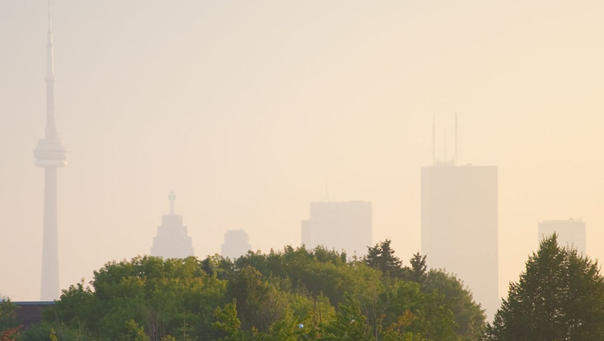 Toronto Air Quality Is Being Hit Hard By The Suffocating Heat, Warns Environment Canada