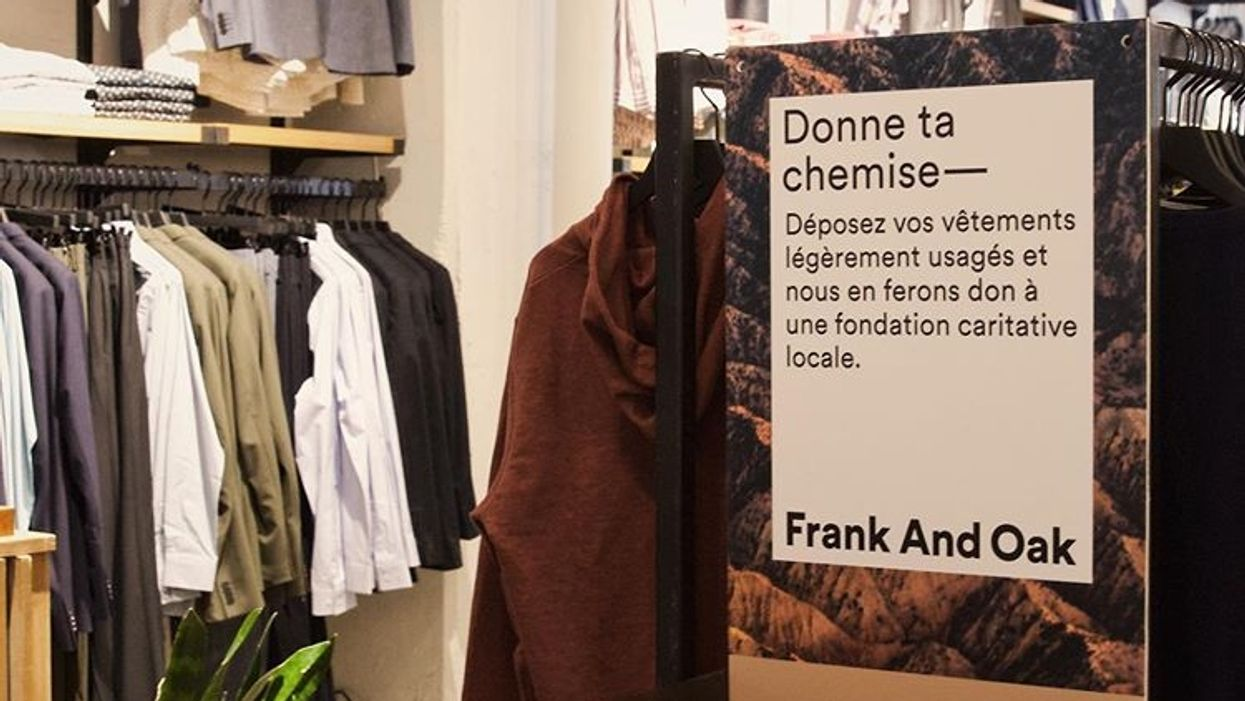 Frank And Oak Closing Sales Are On Now At 7 Canadian Locations