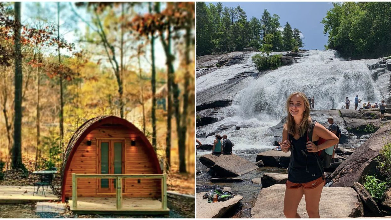 Airbnbs In Georgia Glamping Pod Stay Is Only Minutes Away From Waterfalls