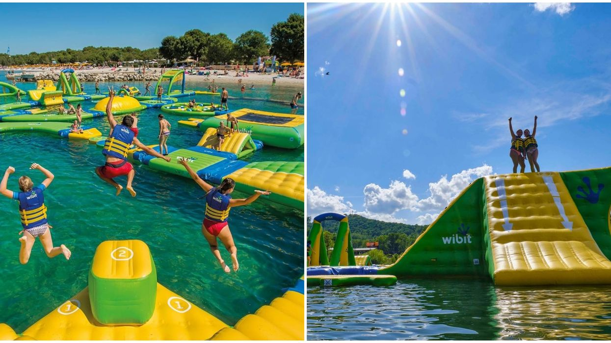 Splash Island Water Park In Georgia Is A Fun And Inflatable Summer Activity